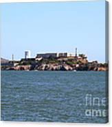 Alcatraz Island In San Francisco California . West Side . 7d14007 Canvas Print