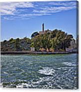 Alcatraz Island San Francisco Canvas Print