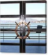 Alcatraz Island The Doors Of The Maritime Museum In San Francisco California . 7d14086 Canvas Print