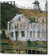 Alcatraz Skeleton Canvas Print