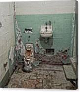 Alcatraz Vandalized Cell Canvas Print