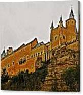 Alcazar De Segovia - Spain Canvas Print