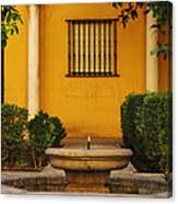 Alcazar Fountain In Spain Canvas Print