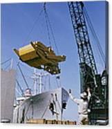 Alcoa Ship Destines For South America Canvas Print
