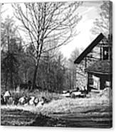 Aldergrove Farmhouse Canvas Print