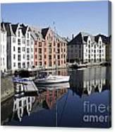 Alesund Norway Canvas Print