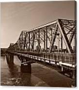 Alexandria Bridge Canvas Print