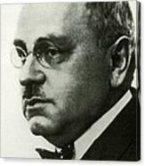 Alfred Adler, Austrian Psychologist Canvas Print