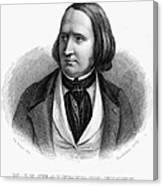 Alfred Victor De Vigny Canvas Print
