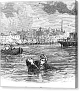 Alger: Ragged Dick Canvas Print