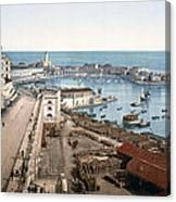 Algiers - Algeria - Harbor And Admiralty Canvas Print