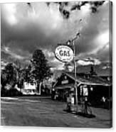 Algonquin Gas Station Canvas Print