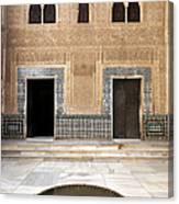 Alhambra Inner Courtyard Canvas Print