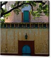 Alhambra Water Tower Doors Canvas Print