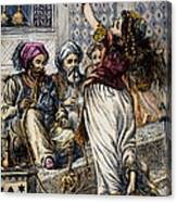 Ali Baba And 40 Thieves Canvas Print