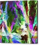 Alien Garden 082012 Canvas Print