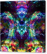 Alien Sunglasses Canvas Print
