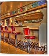 All American Diner 2 Canvas Print