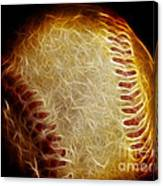 All American Pastime - The Fastball Canvas Print