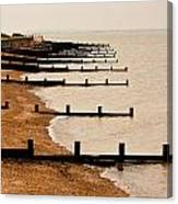 All Hallows Beach Canvas Print