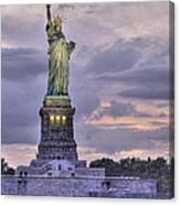 Allegory Of Liberty Canvas Print