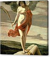 Allegory Of Victory Canvas Print
