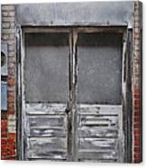 Alley Doors Canvas Print