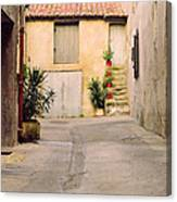 Alley In Arles France Canvas Print