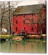 Alley Mill 4 Canvas Print