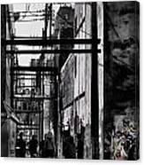 Alley Parade  Canvas Print