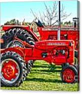 Allis-chalmers Tractors Canvas Print