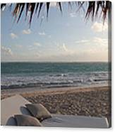 Alluring Tropical Beach Canvas Print