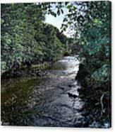 Almond River Cramond Canvas Print