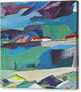 Almost Abstract Painting Canvas Print
