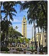 Aloha Tower II Canvas Print