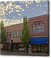 Along 6th Street In Grants Pass Canvas Print