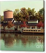 Along The Erie Canal Canvas Print