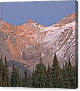 Alpenglow San Juan Mountains Canvas Print