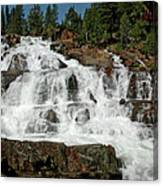 Alpine Falls Glen Alpine Falls Lake Tahoe Canvas Print