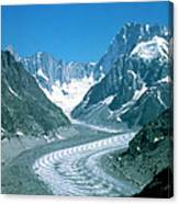 Alpine Glacier Canvas Print