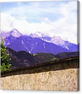 Alpine Wall Canvas Print