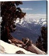 Alta Peak Canvas Print