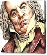 Alun Armstrong Plays Jeremiah Flintwich Canvas Print