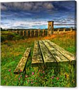 Alwen Reservoir Canvas Print