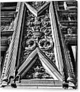 Alwyn Court Building Detail 6 Canvas Print