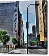 Am And As Downtown Buffalo Canvas Print