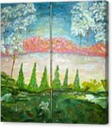 Amazing Gaze Canvas Print