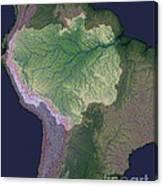 Amazon River Sources Canvas Print