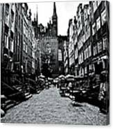 Amber Alley In Gdansk - Poland Canvas Print