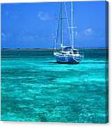 Ambergris Caye Canvas Print